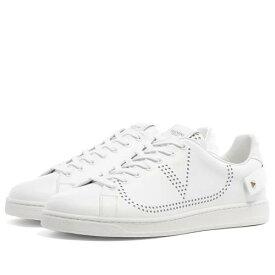 VALENTINO ネット ロゴ スニーカー メンズ 【 Net Go Logo Sneaker 】 White