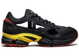 アディダス ADIDAS スニーカー 【 OZWEEGO REPLICANT RAF SIMONS BELGIUM CORE BLACK BOLD GOLD NIGHT GREY 】 メンズ 送料無料