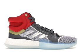 アディダス ADIDAS ブースト ミッド スニーカー 【 MARQUEE BOOST MID MARVEL THOR FOOTWEAR WHITE SILVER METALLIC GREY ONE 】 メンズ 送料無料