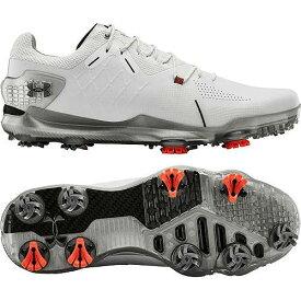 アンダーアーマー UNDER ARMOUR メンズ ゴルフ スニーカー 運動靴 【 Mens Spieth 4 Gtx Golf Shoes 】 White/black