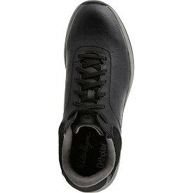 WALTER HAGEN メンズ ゴルフ スニーカー 運動靴 【 Mens Course Casual Golf Shoes 】 Black