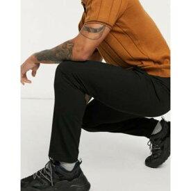 黒 ブラック メンズファッション ズボン パンツ 【 BLACK LOCKSTOCK TRIBECA TROUSER IN 】