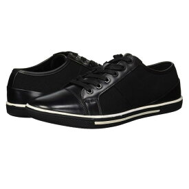 KENNETH COLE UNLISTED 黒 ブラック スニーカー 【 BLACK KENNETH COLE UNLISTED CROWN SNEAKER 】 メンズ スニーカー