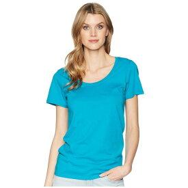 PENDLETON スリーブ 【 SLEEVE SHORT PIMA TEE ENAMEL BLUE 】 レディースファッション トップス Tシャツ カットソー 送料無料
