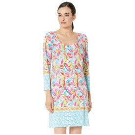 PAPPAGALLO ドレス 【 THE ERIN DRESS BORDER FLORAL PRINTED ITY TROPICAL MULTI 】 レディースファッション ワンピース 送料無料