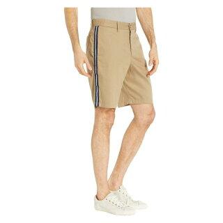 【海外限定】ストライプ ショーツ ハーフパンツ パンツ ズボン 【 STRIPE CALVIN KLEIN CONTRAST COTTON TWILL SHORTS 】【送料無料】