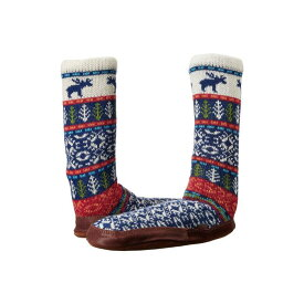 エイコーン ACORN 【 SLIPPER SOCK MAINE WOODS JACQUARD 】 送料無料