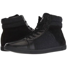KENNETH COLE NEW YORK 黒 ブラック スニーカー 【 BLACK KENNETH COLE NEW YORK INITIAL POINT MULTI 】 メンズ スニーカー