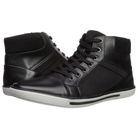 KENNETH COLE UNLISTED 黒 ブラック スニーカー 【 BLACK KENNETH COLE UNLISTED CROWN SNEAKER E 】 メンズ スニーカー