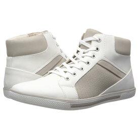 KENNETH COLE UNLISTED 白 ホワイト スニーカー 【 WHITE KENNETH COLE UNLISTED CROWN SNEAKER E 】 メンズ スニーカー