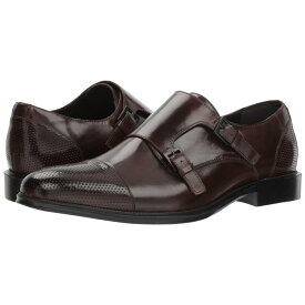 KENNETH COLE REACTION メンズ 【 Zac Monk 】 Brown Leather