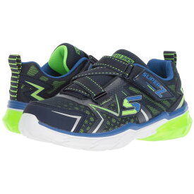 SKECHERS KIDS 【 THERMOFLUX LITTLE KID BIG NAVY LIME 】 キッズ ベビー マタニティ 送料無料