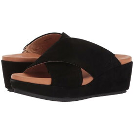 GENTLE SOULS BY KENNETH COLE レディース 【 Mikenzie 】 Black Suede