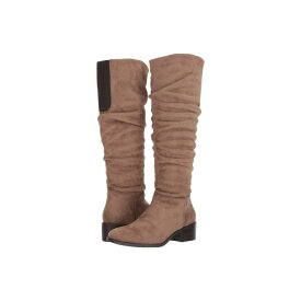 KENNETH COLE REACTION ブーツ レディース 【 Salt Slouch Boot 】 Putty Microsuede