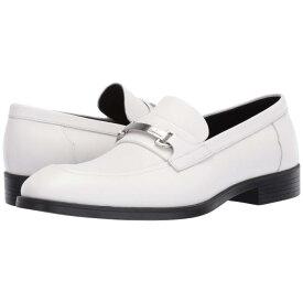 カルバンクライン CALVIN KLEIN ドレス 【 CRAIG WHITE DRESS CALF SMALL GRID EMBOSS 】 メンズ ローファー 送料無料