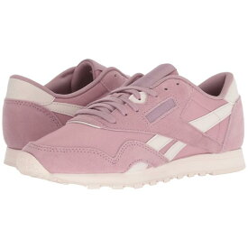 REEBOK LIFESTYLE クラシック スニーカー 【 CLASSIC NYLON INFUSED LILAC PALE PINK 】 送料無料