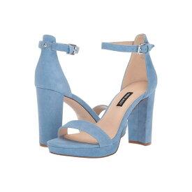 NINE WEST レディース 【 Dempsey Heeled Sandal 】 Medium Blue
