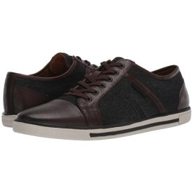 KENNETH COLE NEW YORK 黒 ブラック 茶 ブラウン スニーカー 【 BLACK BROWN KENNETH COLE NEW YORK INITIAL STEP 】 メンズ スニーカー