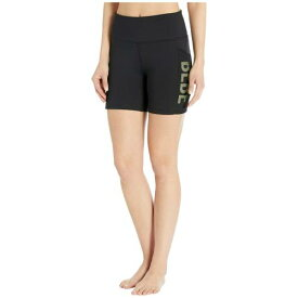 BEBE SPORT ショーツ ハーフパンツ ロゴ レディースファッション ボトムス パンツ レディース 【 Biker Shorts W/ Logo 】 Black/neon Yellow