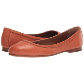 【★スーパーセール中★ 6/11深夜2時迄】FRYE レディース 【 Carson Ballet 】 Sunset Orange Polished Soft Full Grain