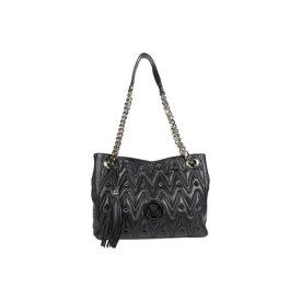 VALENTINO BAGS BY MARIO VALENTINO 黒 ブラック 【 BLACK VALENTINO BAGS BY MARIO LUISA D 4 】 バッグ