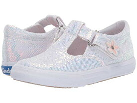 KEDS KIDS 【 DAPHNE TODDLER LITTLE KID WHITE SPARKLE 】 キッズ ベビー マタニティ 送料無料