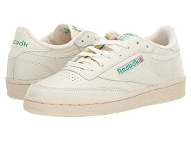 REEBOK LIFESTYLE クラブ 【 CLUB C 85 CHALK GLEN GREEN PAPER WHITE EXCELLENT RED 】 送料無料