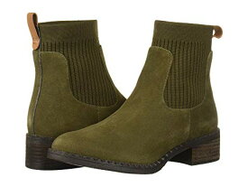 GENTLE SOULS BY KENNETH COLE スニーカー レディース 【 Best Chelsea Bootie 】 Olive Suede