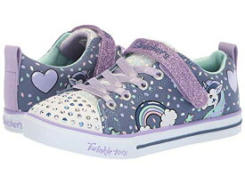スケッチャーズ キッズ SKECHERS KIDS ライト 【 TWINKLE TOES SPARKLE LITE 10988L LIGHTS LITTLE KID BIG DENIM LAVENDAR 】 ベビー マタニティ 送料無料