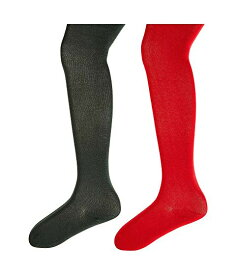 JEFFERIES SOCKS タイツ 【 TIGHTS SEAMLESS ORGANIC COTTON 2PACK INFANT TODDLER LITTLE KID BIG RED HUNTER 】 キッズ ベビー マタニティ 下 送料無料