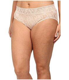 HANKY PANKY 【 HANKY PANKY PLUS SIZE SIGNATURE LACE FRENCH BRIEF CHAI 】 インナー 下着 ナイトウエア レディース