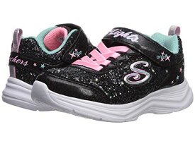 スケッチャーズ キッズ SKECHERS KIDS 【 SPORT LIGHTED GLIMMER KICKS 20267L LITTLE KID BIG BLACK PINK 】 ベビー マタニティ 送料無料