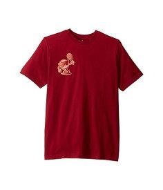 アディダスキッズ ADIDAS KIDS テニス ロゴ Tシャツ キッズ ベビー マタニティ トップス ジュニア 【 Tennis Logo Tee (little Kids/big Kids) 】 Collegiate Burgundy