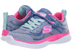 SKECHERS KIDS 'N 【 MOVE GROOVE 83015L LITTLE KID BIG BLUE HOT PINK 】 キッズ ベビー マタニティ 送料無料