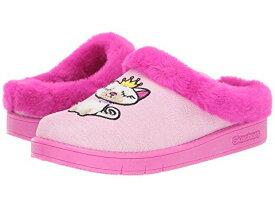 SKECHERS KIDS 【 SLEEPY SLIDES 85675L LITTLE KID BIG PINK 】 キッズ ベビー マタニティ 送料無料