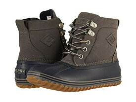 SPERRY KIDS ブーツ 【 BOWLINE BOOT LITTLE KID BIG NAVY GREY 】 キッズ ベビー マタニティ 送料無料