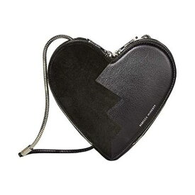 REBECCA MINKOFF 【 HEART CROSSBODY BLACK 】 バッグ 送料無料