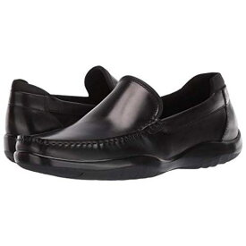 KENNETH COLE NEW YORK 黒 ブラック スニーカー 【 BLACK KENNETH COLE NEW YORK MOTION FLEX DRIVER 】 メンズ スニーカー