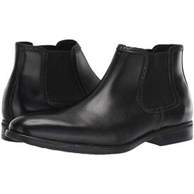 KENNETH COLE REACTION 黒 ブラック スニーカー 【 BLACK KENNETH COLE REACTION EDGE FLEX CHELSEA 】 メンズ スニーカー