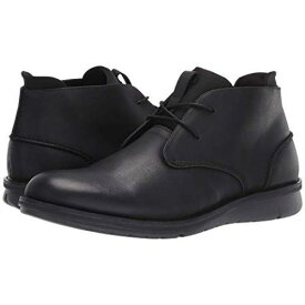 KENNETH COLE REACTION チャッカ 黒 ブラック スニーカー 【 BLACK KENNETH COLE REACTION CASINO CHUKKA 】 メンズ スニーカー