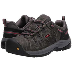 KEEN UTILITY スニーカー レディース 【 Flint Ii (steel Toe) 】 Magnet/rose