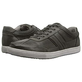 KENNETH COLE REACTION 灰色 グレ レザー スニーカー 【 KENNETH COLE REACTION SPRINTER SNEAKER GREY LEATHER 】 メンズ スニーカー