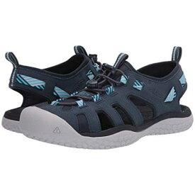 KEEN スニーカー レディース 【 Solr Sandal 】 Navy/blue Mist