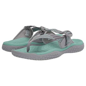 KEEN スニーカー レディース 【 Solr Toe Post 】 Light Gray/ocean Wave
