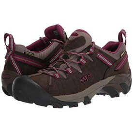 KEEN スニーカー レディース 【 Targhee Ii Waterproof 】 Canteen/boysenberry