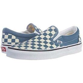 バンズ VANS クラシック Slipon™ メンズ ユニセックス 【 Classic Slip-on™ 】 (checkerboard) Blue Mirage/true White