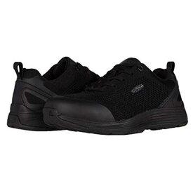 KEEN UTILITY スニーカー レディース 【 Sparta Aluminum Toe 】 Black/black