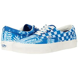 バンズ VANS バンズ 青 ブルー ERA™ 【 VANS BLUE SOLAR FLORAL TRUE MARSHMALLOW 】 メンズ