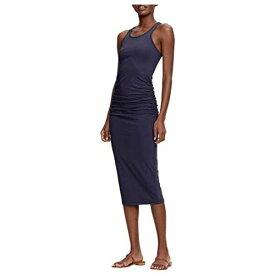 MICHAEL STARS ドレス レディースファッション ワンピース レディース 【 Racerback Dress W/ Shirring 】 Admiral