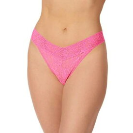 HANKY PANKY ライズ インナー 下着 ナイトウエア レディース 【 Signature Lace Original Rise Thong 】 Fiesta Pink
